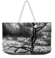 Beautifully Dead In Black And White Weekender Tote Bag