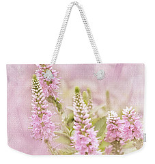 Weekender Tote Bag featuring the photograph Beautilicious by Betty LaRue