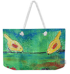 Beauty Above Weekender Tote Bag