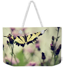 Weekender Tote Bag featuring the photograph Beauty And Grace  by Kerri Farley