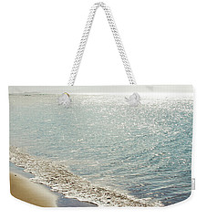 Weekender Tote Bag featuring the photograph Beauty And The Beach by Sharon Mau