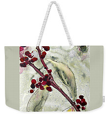 Beauty Berry Branch Weekender Tote Bag