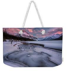 Beauty Creek, Jasper National Park Weekender Tote Bag