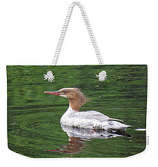 Weekender Tote Bag featuring the digital art Beauty by I'ina Van Lawick
