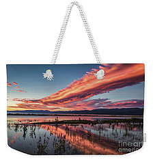 Beauty In A Wicked World Weekender Tote Bag by Mitch Shindelbower