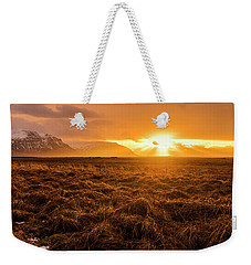 Weekender Tote Bag featuring the photograph Beauty In Nature by Pradeep Raja Prints