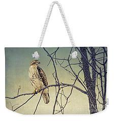 Red-tailed Hawk On Watch Weekender Tote Bag