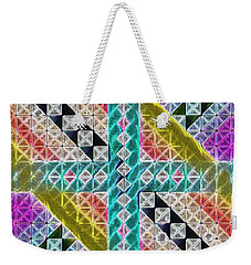 Beauty In The Cross Weekender Tote Bag