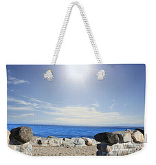 Beauty In The Distance Weekender Tote Bag by Judy Palkimas