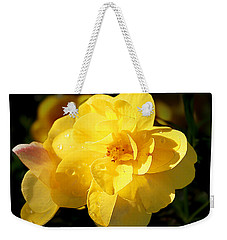 Beauty In Yellow Weekender Tote Bag