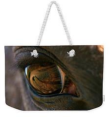 Beauty Is In The Eye Of The Beholder Weekender Tote Bag