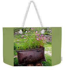 Beauty Is Just A Seed Away Weekender Tote Bag by Natalie Ortiz