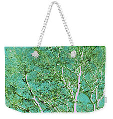 Beauty Of An Aqua Sky				 Weekender Tote Bag by Ann Johndro-Collins