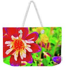 Beauty Of The Flower Weekender Tote Bag