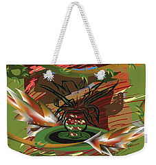 Beauty Of The Garden Weekender Tote Bag