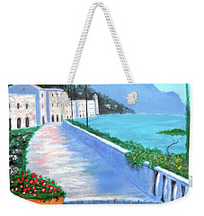 Beauty Of The Riviera Weekender Tote Bag