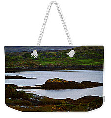 Weekender Tote Bag featuring the photograph Beauty On The Rocks by Patricia Griffin Brett