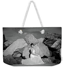 Beauty On The Rocks Weekender Tote Bag by Stefanie Silva