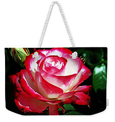 Beauty Rose Weekender Tote Bag by Joseph Frank Baraba