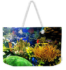 Weekender Tote Bag featuring the photograph Beauty Under The Sea by Kelly Mills