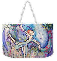 Beauty Unveiled Ballet  Weekender Tote Bag by Judith Desrosiers