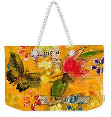 Beauty Without Vanity Weekender Tote Bag
