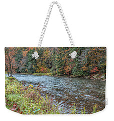 Weekender Tote Bag featuring the photograph Beaver Creek by John M Bailey