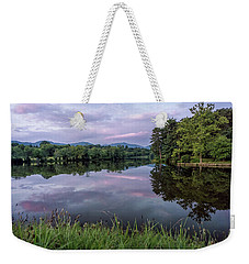 Beaver Lake Reflections Weekender Tote Bag