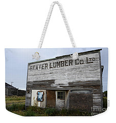 Beaver Lumber Company Ltd Robsart Weekender Tote Bag by Bob Christopher