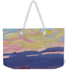 Beaver Sunset Weekender Tote Bag