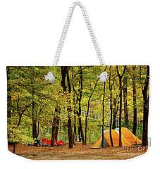 Beaver's Bend Camping Weekender Tote Bag