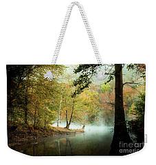 Beavers Bend Creek In Fall Weekender Tote Bag