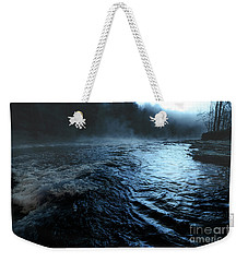 Beaver's Bend Fog Weekender Tote Bag by Tamyra Ayles