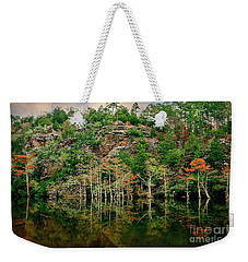 Beaver's Bend Overlook Weekender Tote Bag by Tamyra Ayles