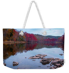 Weekender Tote Bag featuring the photograph Beavers Bend State Park by Robert Bellomy