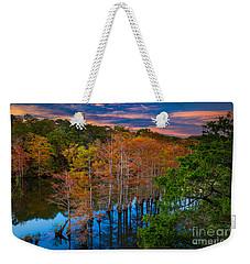 Beavers Bend Twilight Weekender Tote Bag