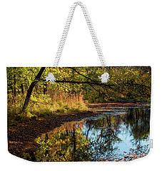 Beaver's Pond Weekender Tote Bag by Iris Greenwell