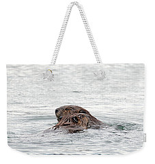 Beavers Snuggling Weekender Tote Bag