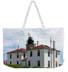 Beavertail Light Rhode Island Weekender Tote Bag
