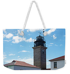 Beavertail Lighthouse Rhode Island Weekender Tote Bag