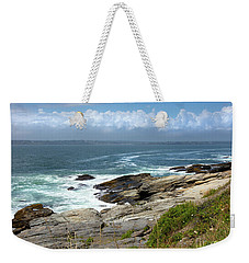 Beavertail Point Jamestown Rhode Island Weekender Tote Bag