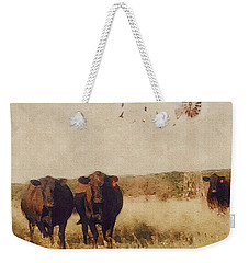 Because Cows Weekender Tote Bag