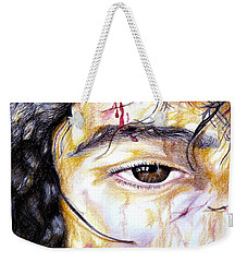 Because Of Love Weekender Tote Bag