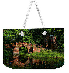 Beckerbruch Bridge Reflection Weekender Tote Bag