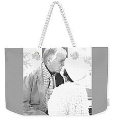 Becky's Kiss Weekender Tote Bag