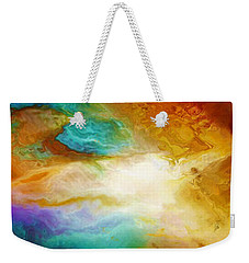 Becoming - Abstract Art Weekender Tote Bag by Jaison Cianelli