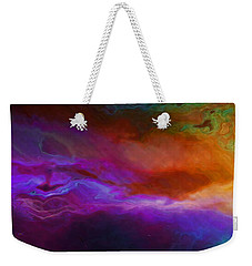 Becoming - Abstract Art - Triptych 1 Of 3 Weekender Tote Bag by Jaison Cianelli