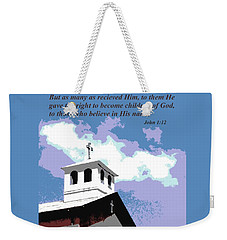 Becoming God's Children Weekender Tote Bag by Natalie Ortiz