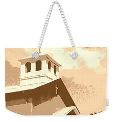 Becoming God's Children Vintage Weekender Tote Bag by Natalie Ortiz