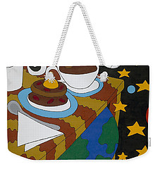 Bed And Breakfast Weekender Tote Bag by Rojax Art